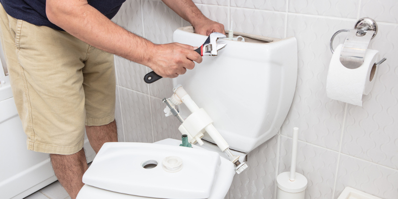 Toilet Installation in Wake Forest, North Carolina