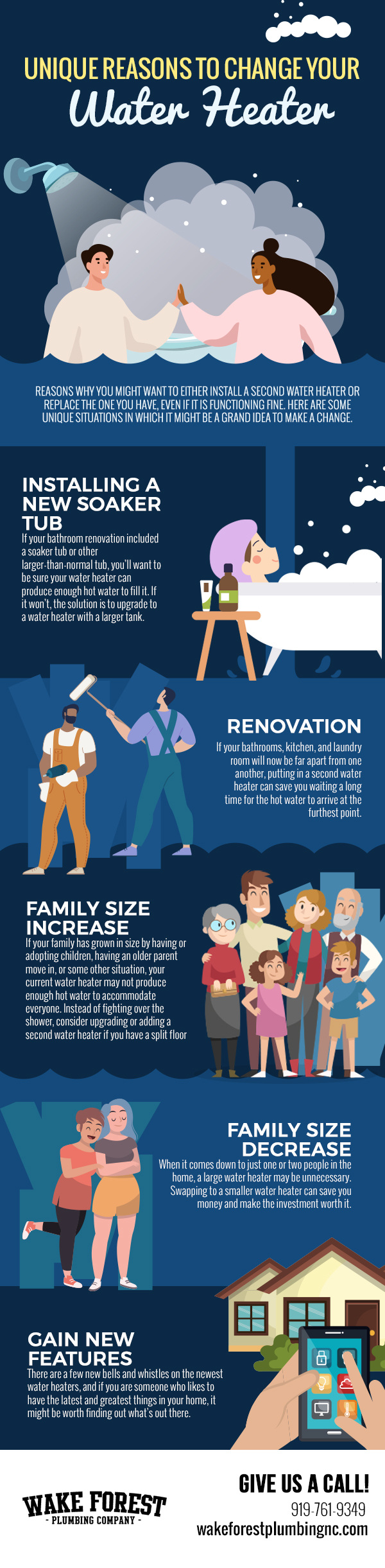 Unique Reasons to Change Your Water Heater [infographic]